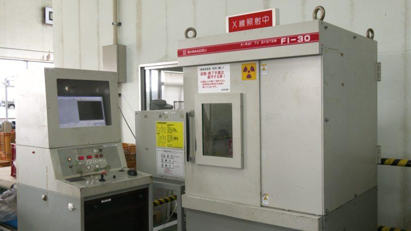 X線探傷試験機